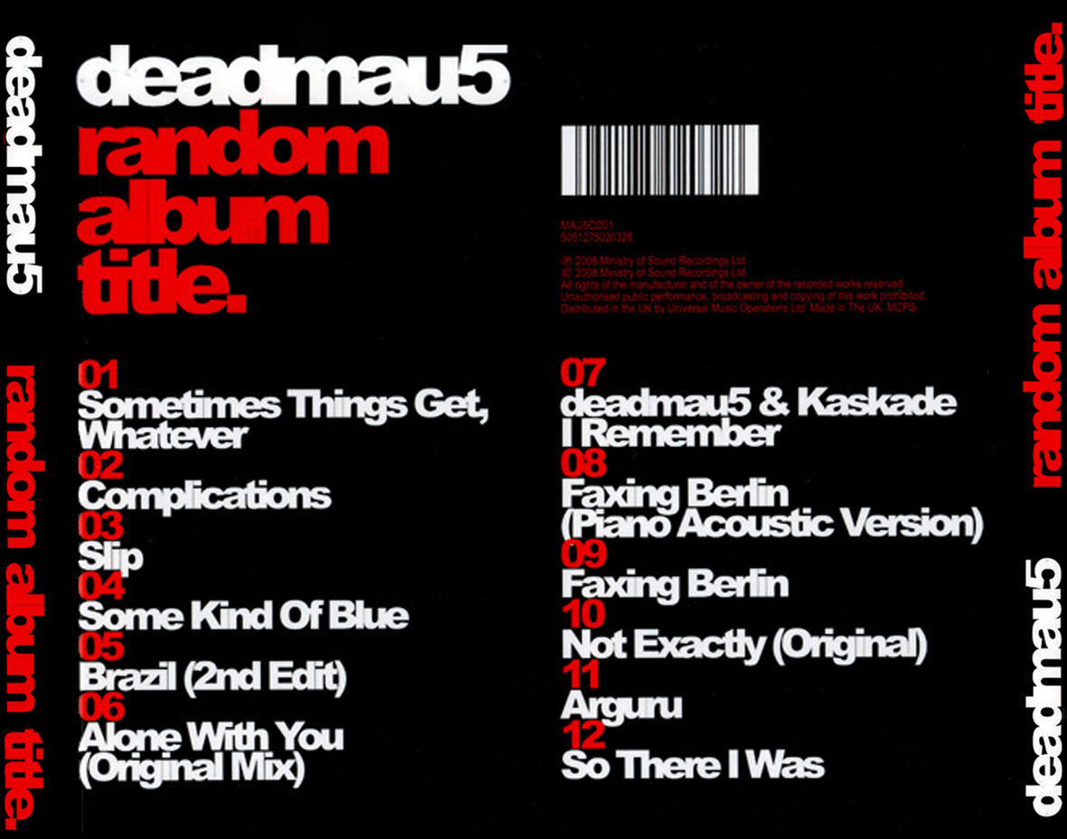Deadmau5-Random_Album_Title-Trasera