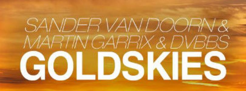 "News: Martin Garrix previews forthcoming collab with Sander Van Doorn & DVBBS, ""GOLDSKIES"" on Instagram!"