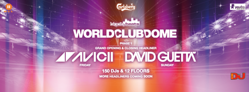 BigCityBeats announces the first headliners for WORLD CLUB DOME 2015!