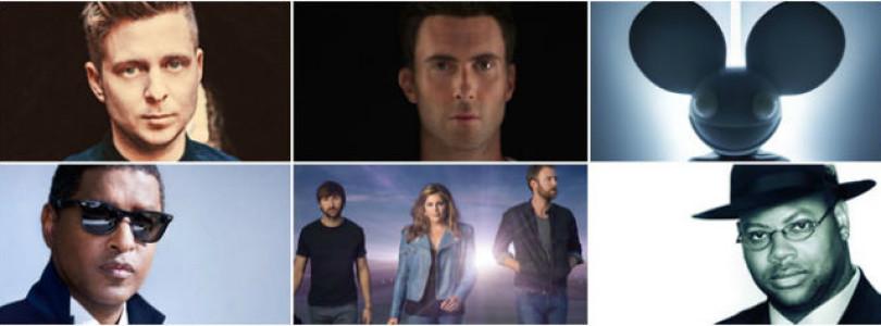 Adam Levine, Ryan Tedder, Alicia Keys, Deadmau5 & More Form The Grammy Creators Alliance