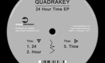 Quadrakey – 24 Hour Time EP [Tooman Records]