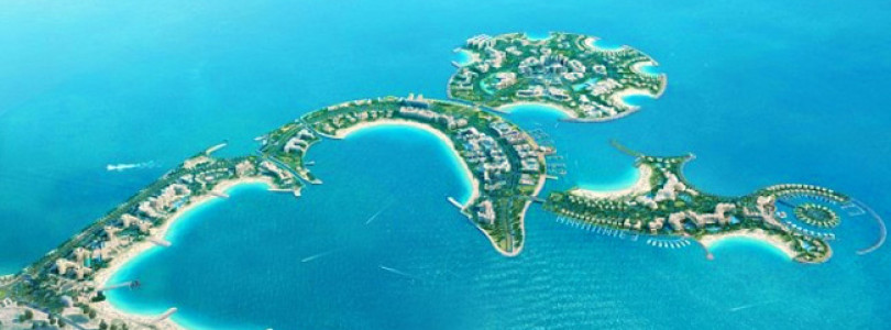 UAE Building An All Day – All Night Party Island!