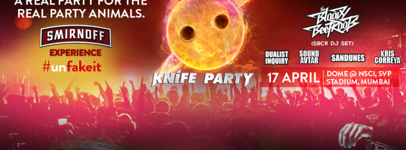 Smirnoff Experience with Knife Party, Bloody Beetroots & more