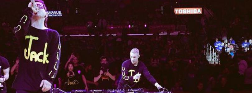 Jack Ü Perform At The NBA Playoffs