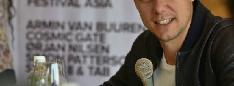 A State Of Trance Festival, Asia – Press Meet with Armin van Buuren