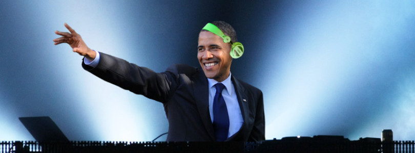 President Obama has just released exclusive playlists on Spotify