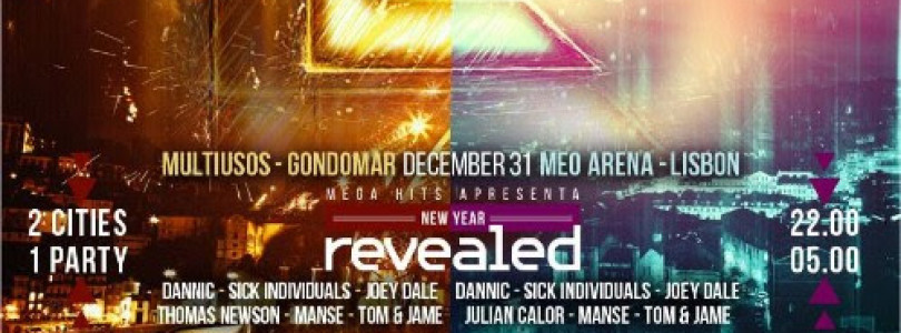Revealed Recordings brings top-tier line-up to Portugal for New Years Eve 2015 with Mega Hits Radio