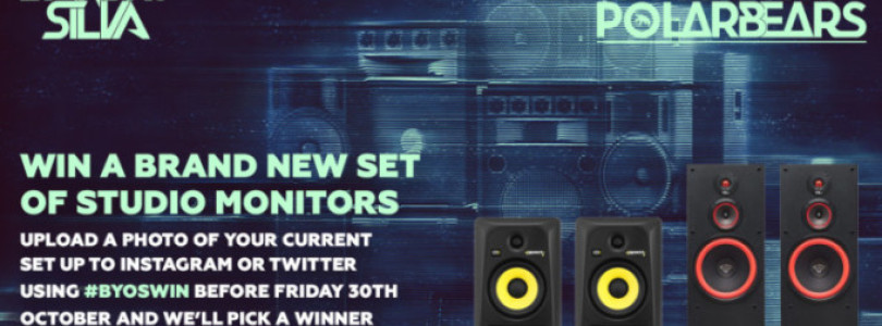 Sandro Silva & Futuristic Polar Bears 'BYOS' Competition – Win A Brand New Set Of Studio Monitors