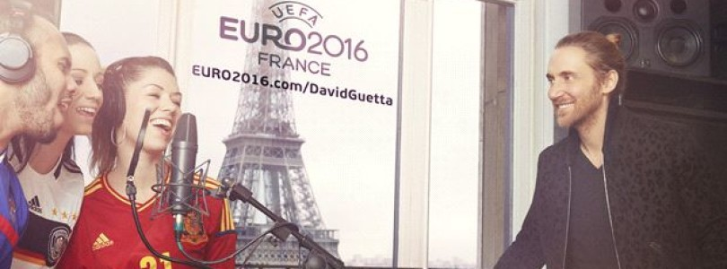 David Guetta to record the official song for UEFA Euro 2016