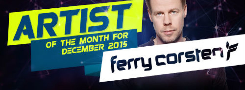 Artist Of The Month For December 2015 – Ferry Corsten