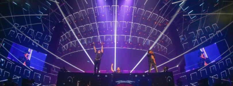Dimitri Vegas & Like Mike Complete 3 Sold-Out Arena Shows To 60,000 Fans In Belgium