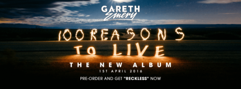 Gareth Emery announces third studio album: '100 reasons to live'