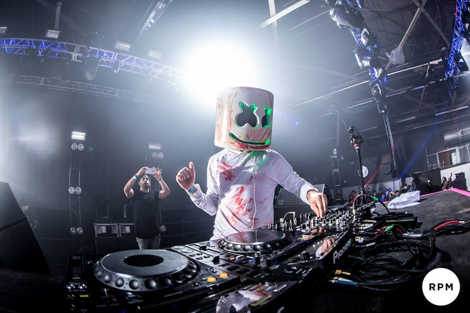 Has Marshmello finally been unmasked?   T.H.E - Music