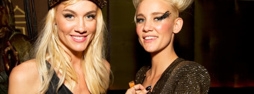 Check out Nervo's sexy shoot with Playboy