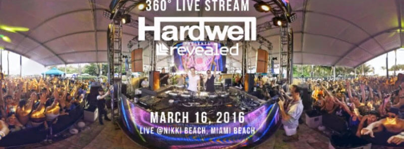 Hardwell to be the first EDM Artist to live stream performance in VR and 360 Video With Littlstar
