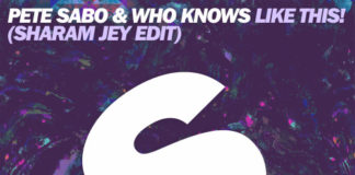 New tune Pete Sabo & Who Knows 'Like This' (Sharam Jey edit) out now on Spinnin' Deep