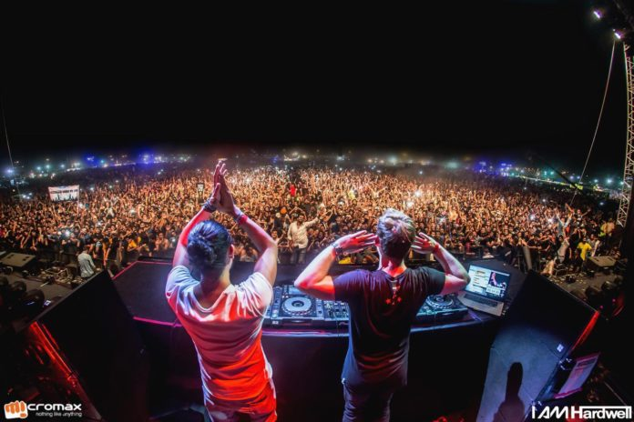 hardwell sunburn arena delhi kill the buzz