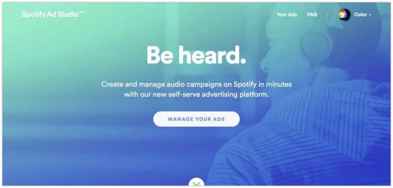 Australian Spotify listeners