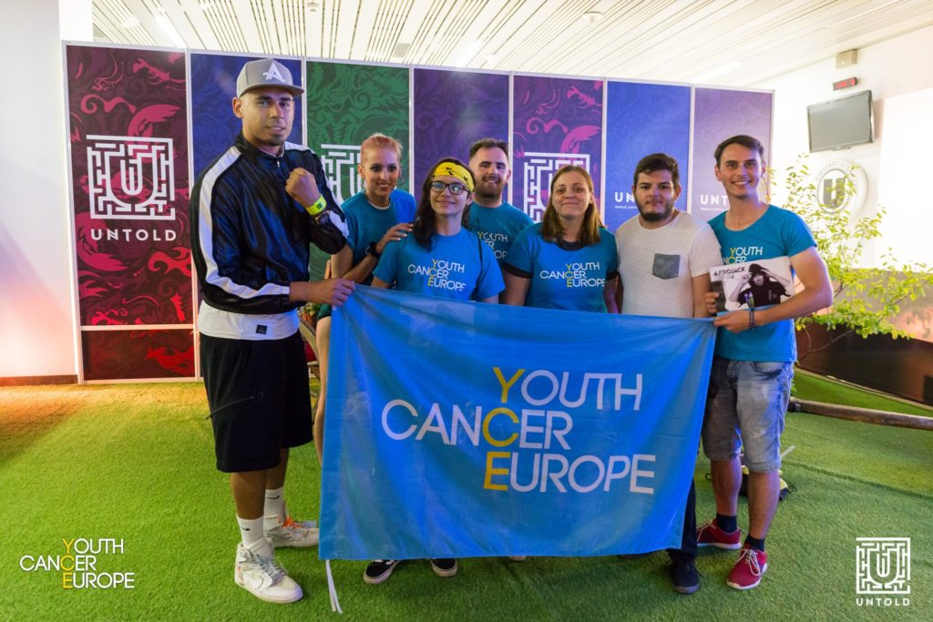 youth cancer survivors afrojack