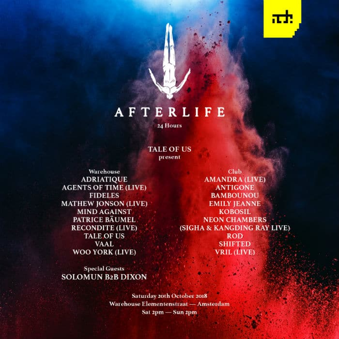 Afterlife ADE lineup