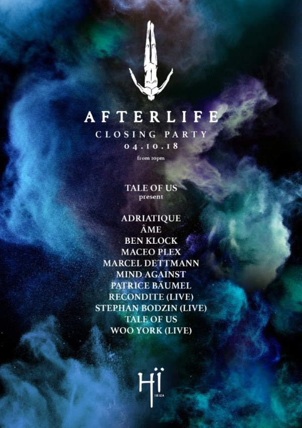 Afterlife Ibiza closing party
