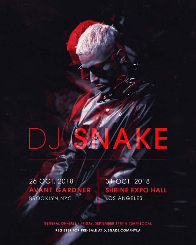DJ SNAKE tour dates