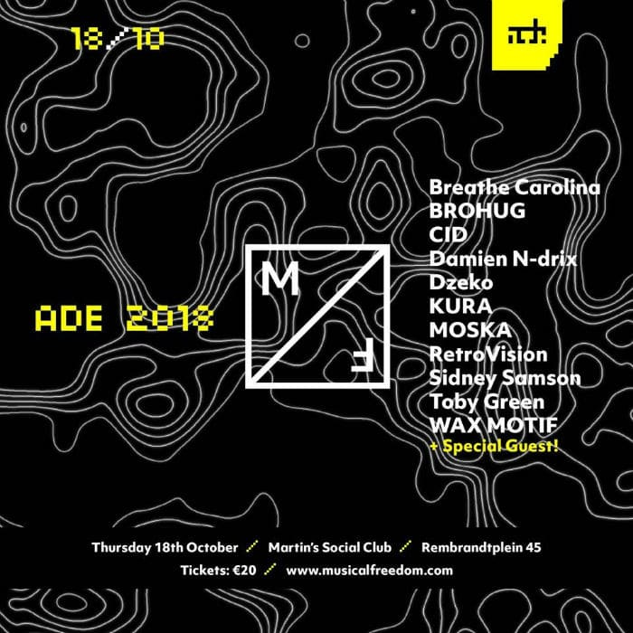 Musical freedom ade 2018