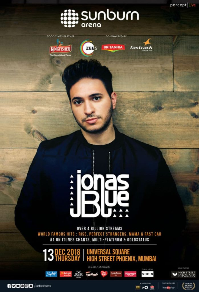 Jonas Blue India tour tickets