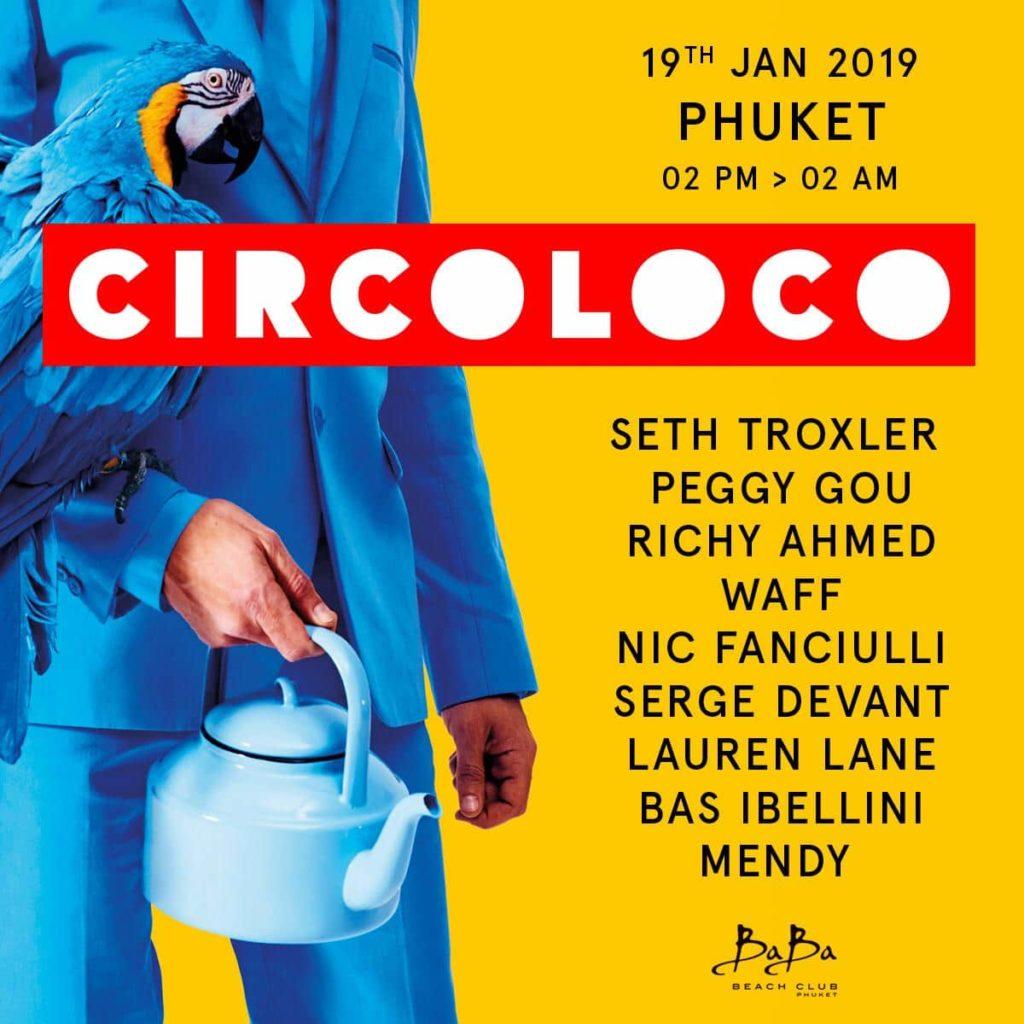 Circoloco lineup