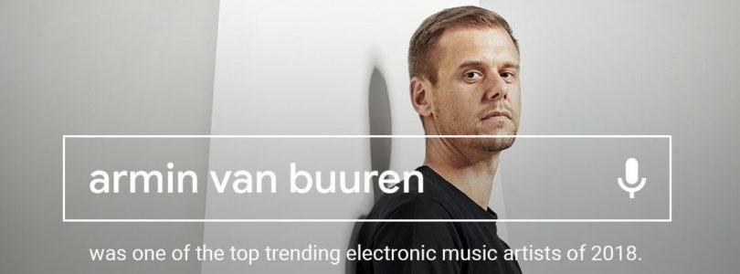 Google electronic music searches 2018