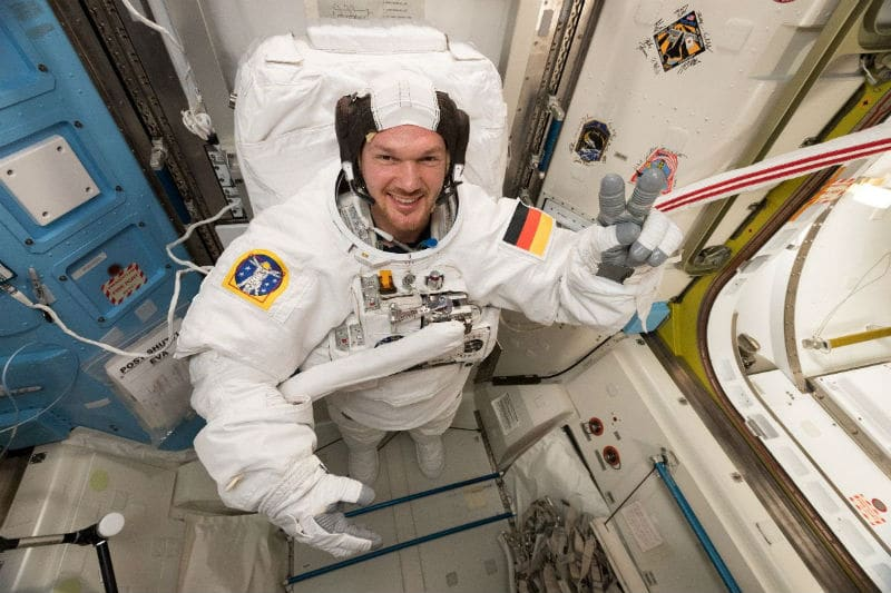 ESA astronaut and Commander of the ISS, Alexander Gerst