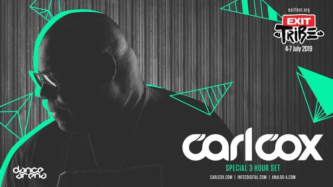 Carl cox exit festival 2019