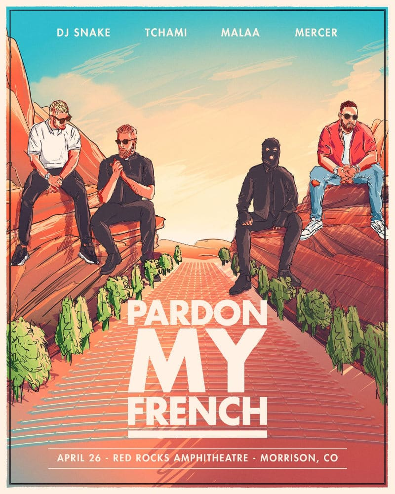 Pardon My French Collective Announce Red Rocks Show This April Images, Photos, Reviews