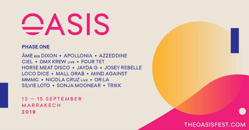 oasis festival 2019 lineup