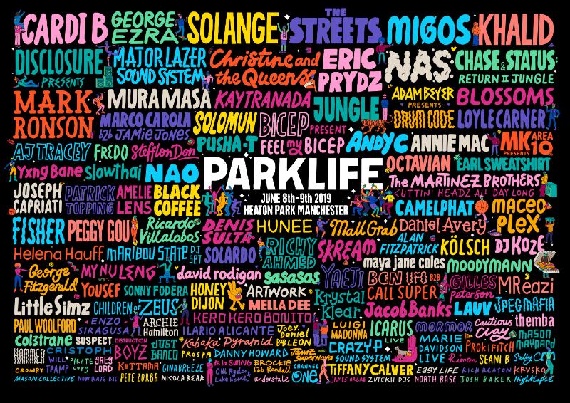 Parklife 2019 - lineup