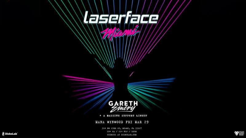 Gareth Emery Laserface Miami