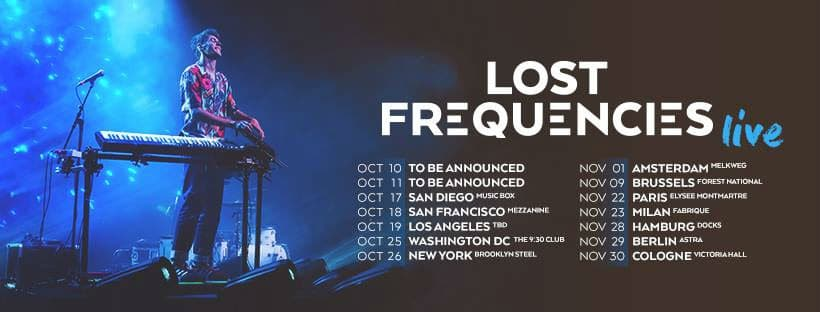 Lost Frequencies liveshow 2019