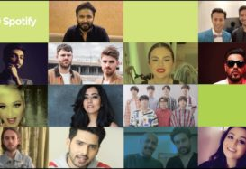 artists welcome spotify to india