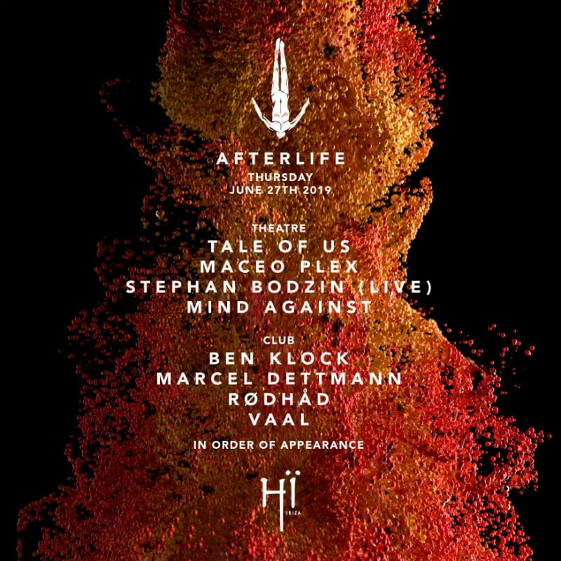tale of us afterlife hi ibiza lineup 2019