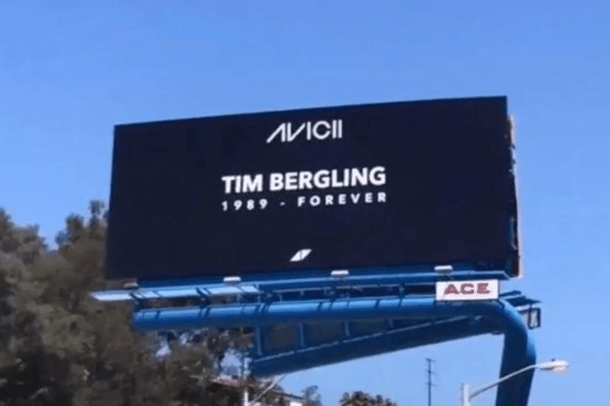 Avicii Billboard