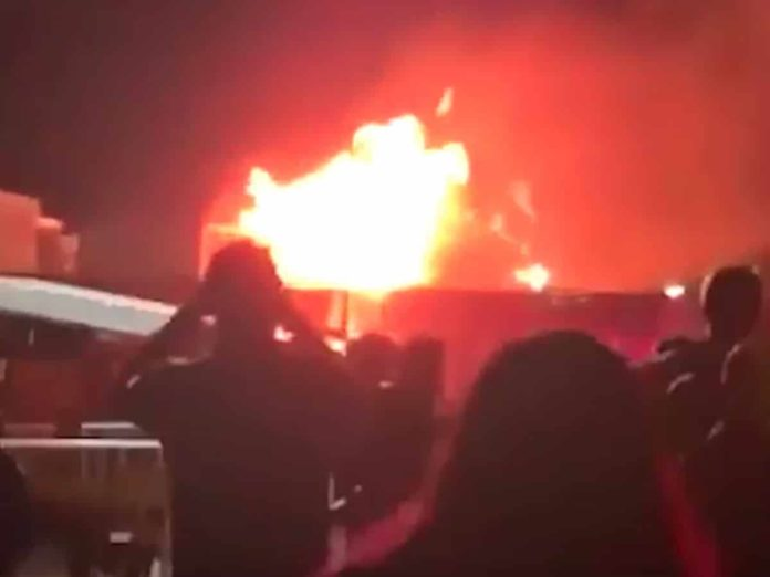 Coachella fire
