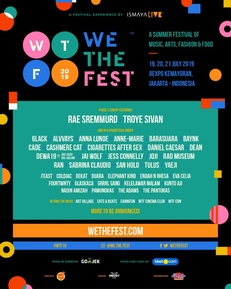 We The Fest 2019 Lineup