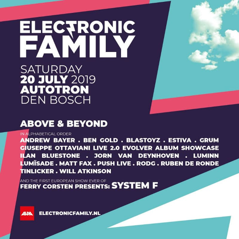 Electronic Family 2019 Lineup