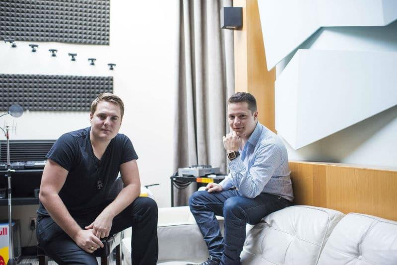 Mike Darlington and Ari Paunonen