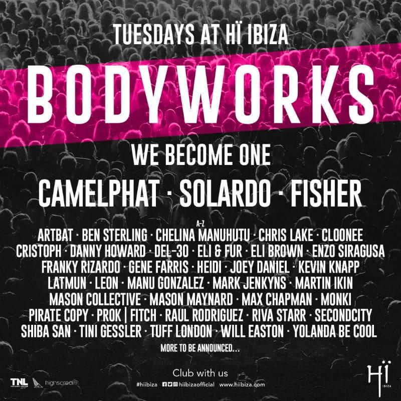 hi ibiza bodyworks 2019