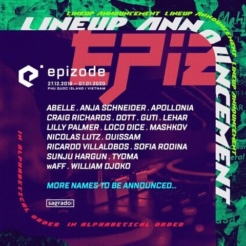 EPIZODE Festival 2019 Lineup