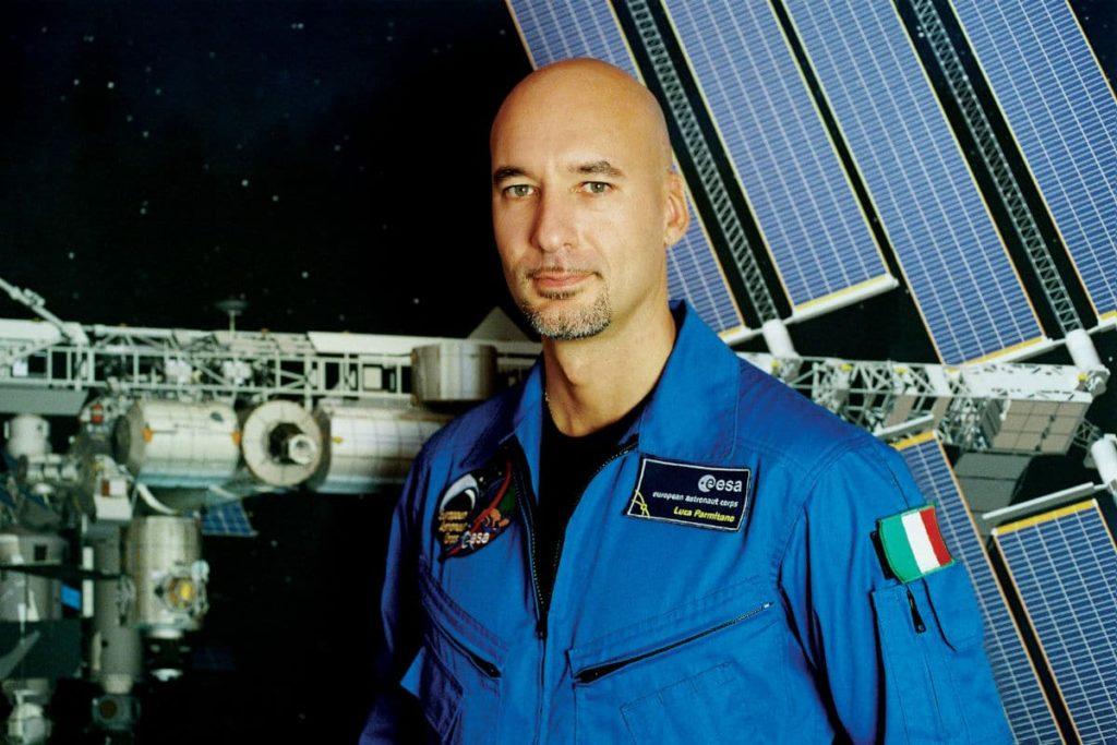 ESA Astronaut Luca Parmitano DJ