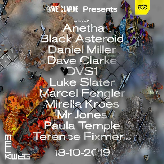 dave clarke presents ade 2019 lineup
