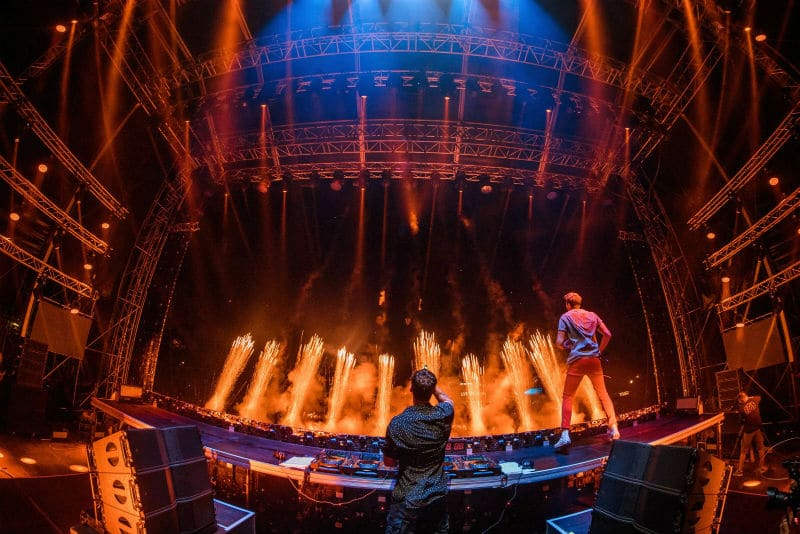 The Chainsmokers at EXIT Festival 2019