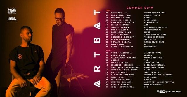 artbat tour dates 2019